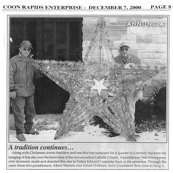 Coon Rapids Enterprise clipping